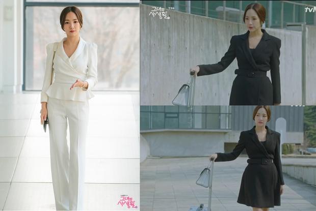 Фото №2 - Что так с секретарем Ким: 7 хитрых приемов классического стиля от Пак Мин Ён