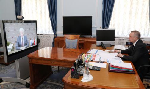 Фото №1 - Беглов: В петербургских ковидных стационарах препаратов хватит минимум на две недели