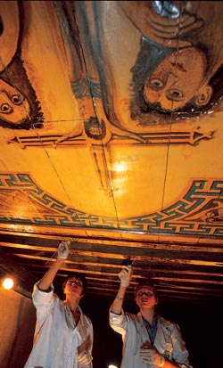Фото №6 - Эль-Муалляка — надвратная церковь Богородицы