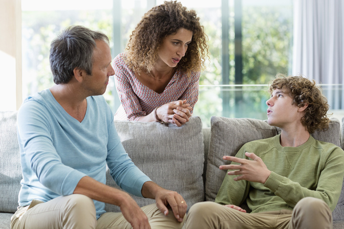"""6 rules for raising """"difficult"""" teenagers"""