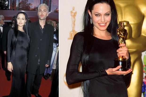 Анджелина Джоли, 2000 оскар худшие платья