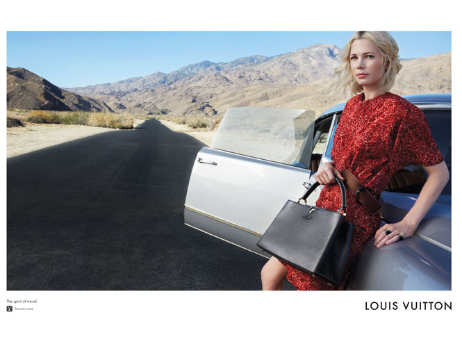Фото №5 - Дух путешествий: Мишель Уильямс в рекламе Louis Vuitton