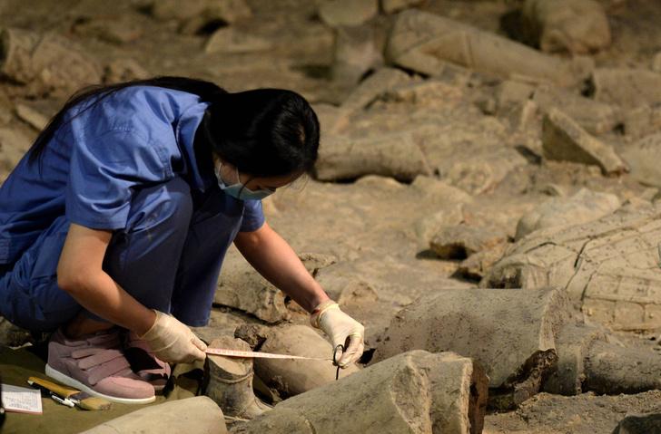 Фото №1 - В Китае обнаружен сосуд с ликером 2000-летней выдержки