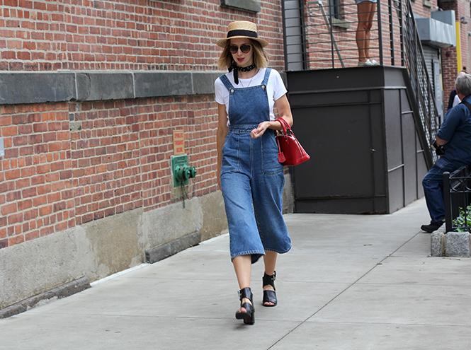 Фото №5 - Street style первого дня недели моды в Нью-Йорке
