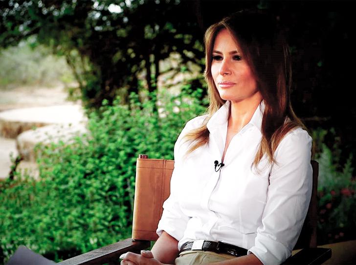 Фото №1 - Быть Меланией: самое откровенное интервью Первой леди США (полная версия)