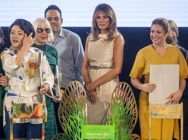 Фото №15 - G20 в Аргентине: самые яркие модные выходы Первых леди