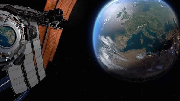 Фото №1 - Видео дня: вот как видит Землю астронавт во время взлета космического корабля