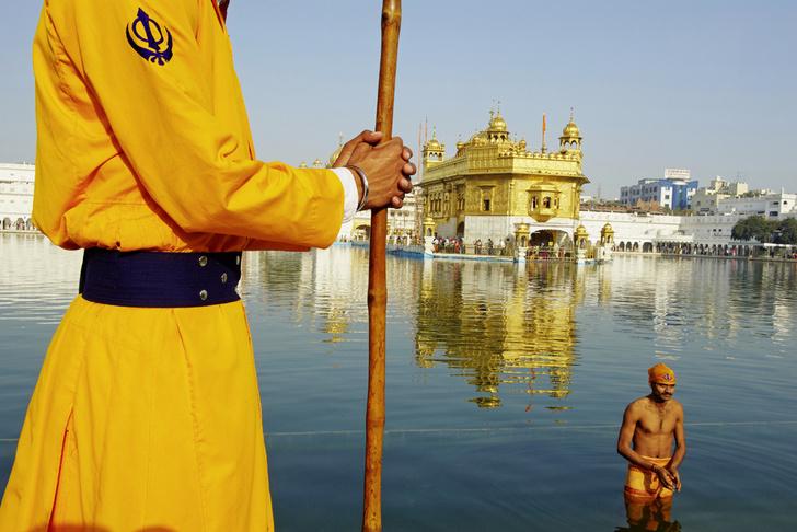 Фото №1 - Золотые люди: как устроена жизнь в Золотом храме Амритсара