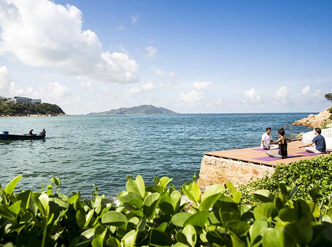 Фото №3 - Затеряться в море: на крошечном острове в Китае открылся курорт Club Med