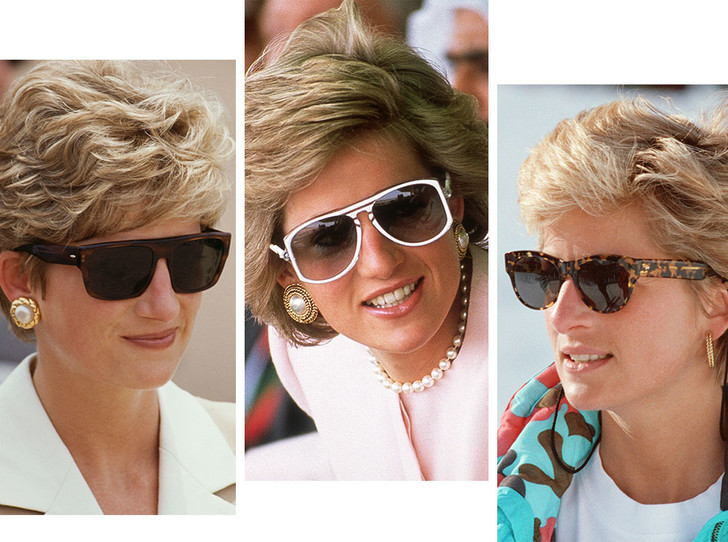Фото №1 - Любимые солнцезащитные очки принцессы Дианы