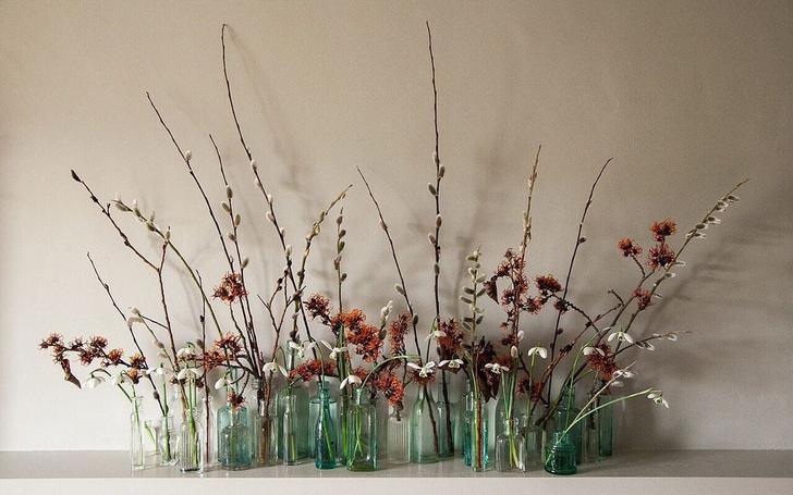 Фото №1 - Украшаем дом к весне: букеты из веток