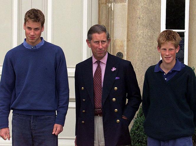 Фото №6 - Два будущих Короля: какими были отношения Чарльза и Уильяма все эти годы