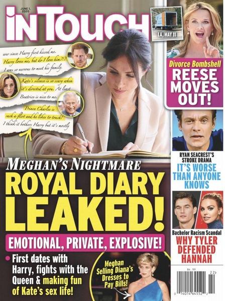 Фото №2 - Ссоры с королевой, шутки над унылой сексуальной жизнью Кейт: что скрывает тайный дневник Меган Маркл