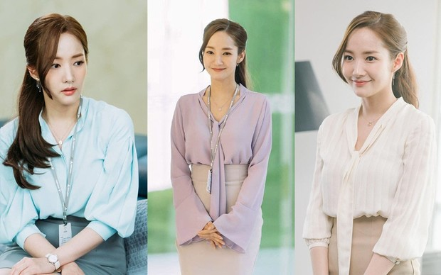 Фото №6 - Что так с секретарем Ким: 7 хитрых приемов классического стиля от Пак Мин Ён
