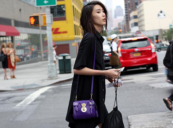 Фото №8 - Street style первого дня недели моды в Нью-Йорке