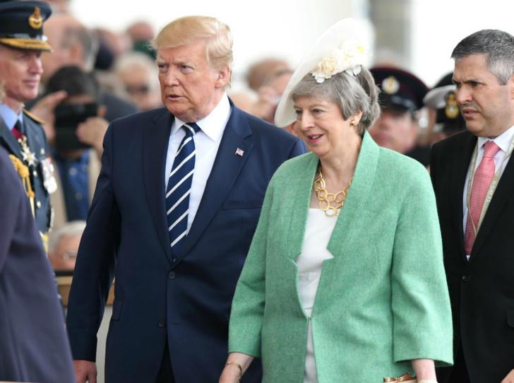 Фото №3 - Чем завершился трехдневный визит Дональда Трампа в Британию