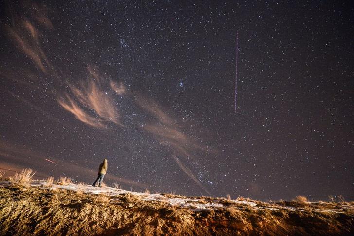 Фото №1 - Жители России увидят самый красивый звездопад года