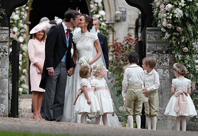 Фото №39 - Свадьба Пиппы Миддлтон