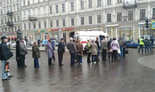 Фото №1 - Еще в одном районе Петербурга начали делать прививки от гриппа у метро