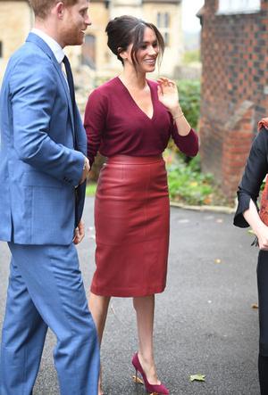 Фото №20 - Лучшие образы герцогини Меган в 2019 году