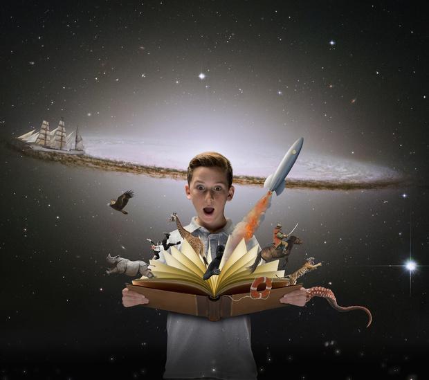 Фото №1 - Нескучные энциклопедии: подборка детских книг с дополненной реальностью