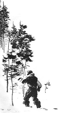 Фото №2 - С. Гансовский. Гость из каменного века