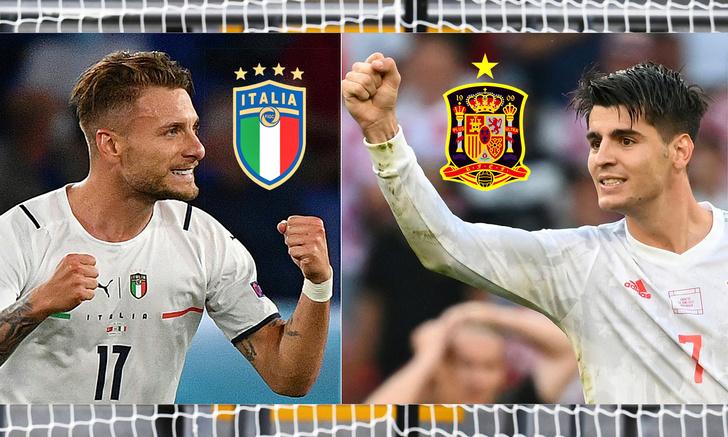 Фото №1 - Битва титанов: чего ждать от матча Италия— Испания в полуфинале Евро-2020