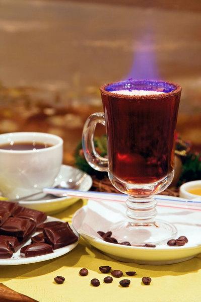 Кофе и ром: кофейный грог