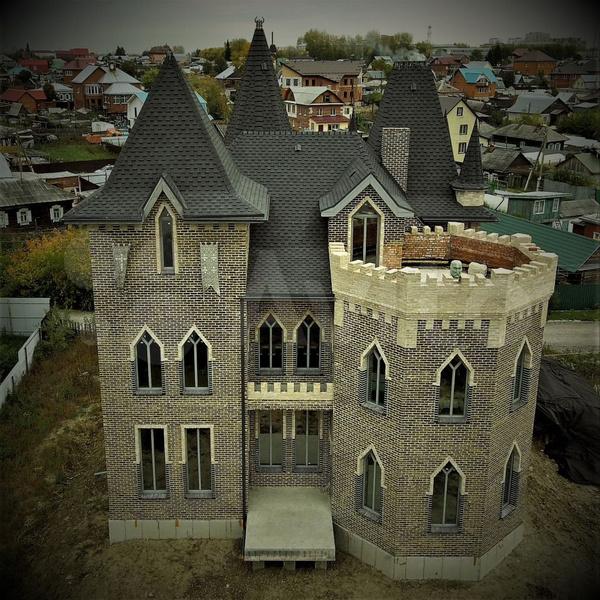 необычные проекты домов
