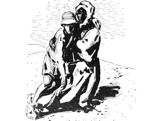 Фото №1 - Двое в пустыне