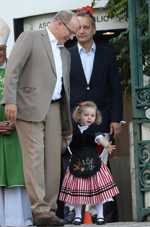 Фото №49 - Принц Жак и принцесса Габриэлла: четвертый год в фотографиях