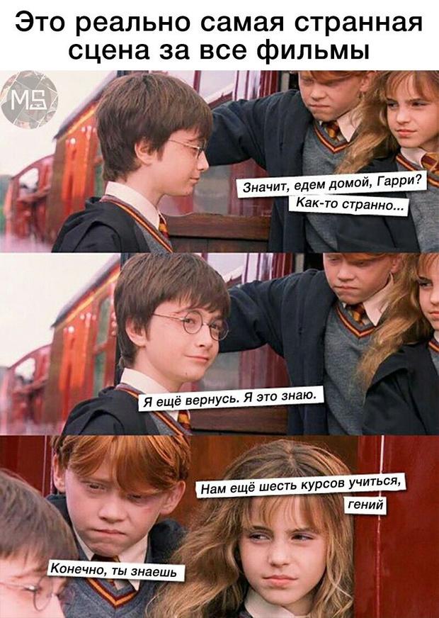 Фото №3 - Лучшие шутки и анекдоты про Гарри Поттера