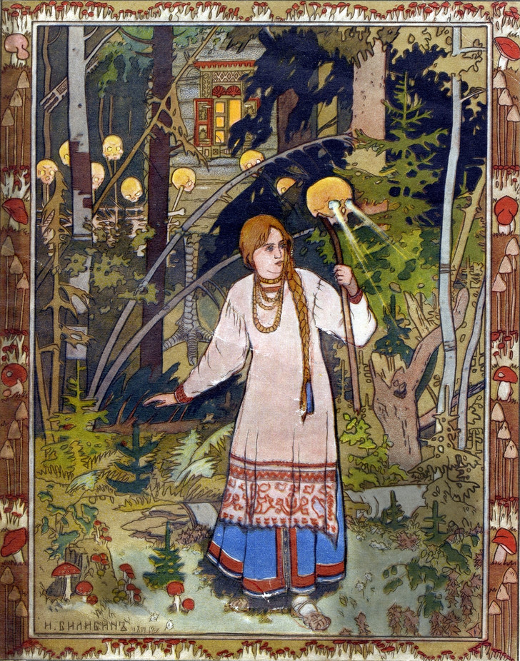 Фото №1 - Древние ритуалы инициации, японская ксилография и работы Уильяма Морриса: истоки «билибинского» стиля