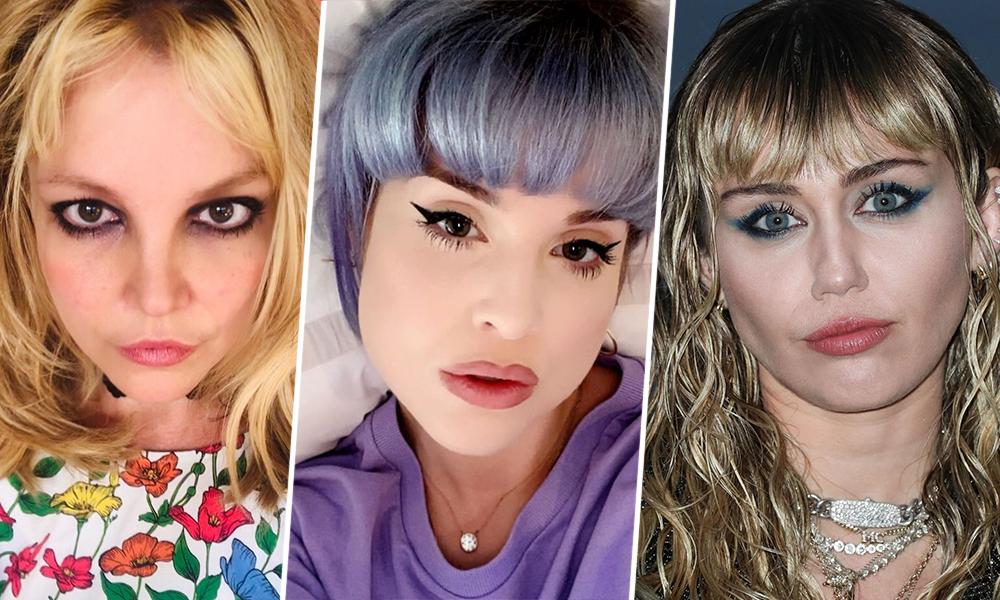Слипшиеся ресницы и макияж продавщицы: 12 худших вариантов макияжа звезд за 2020 год