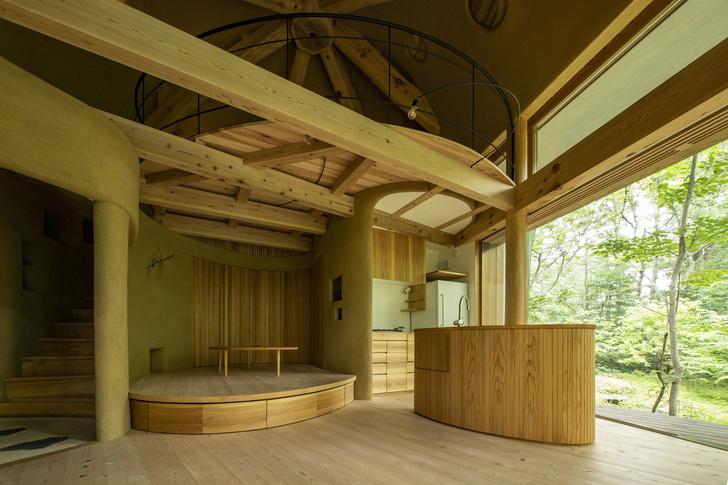 Фото №5 - Летний дом в японском лесу