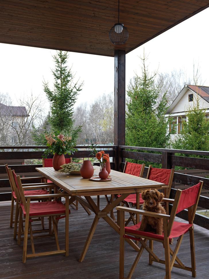 Фото №12 - Загородный дом в пастельных оттенках