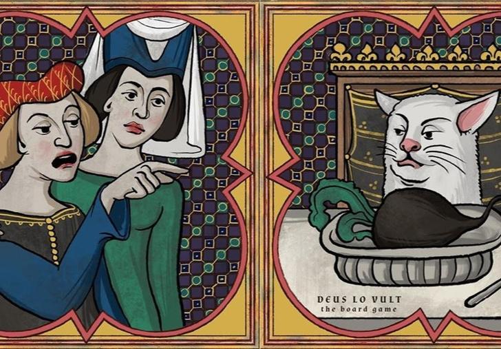 Фото №1 - Как популярные мемы выглядели бы в Средневековье