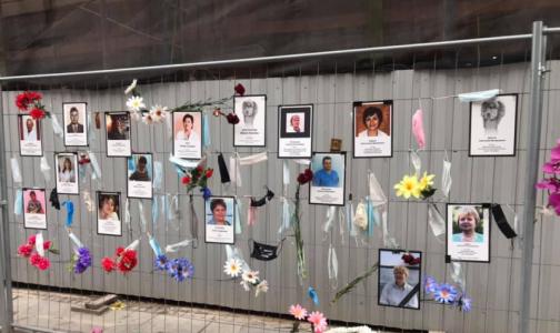 Фото №1 - «Стену памяти» петербургским медикам перенесут от здания комздрава, когда завершится пандемия