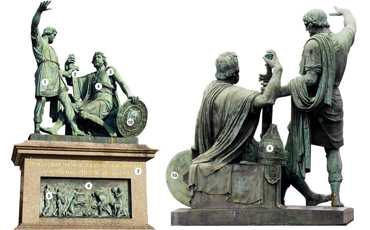 Фото №2 - Общее дело: Памятник Минину и Пожарскому — краудфандинговый проект XIX века