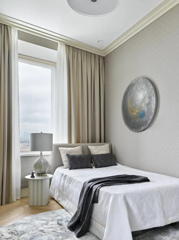 Фото №14 - Элегантный монохромный интерьер квартиры 85 м²