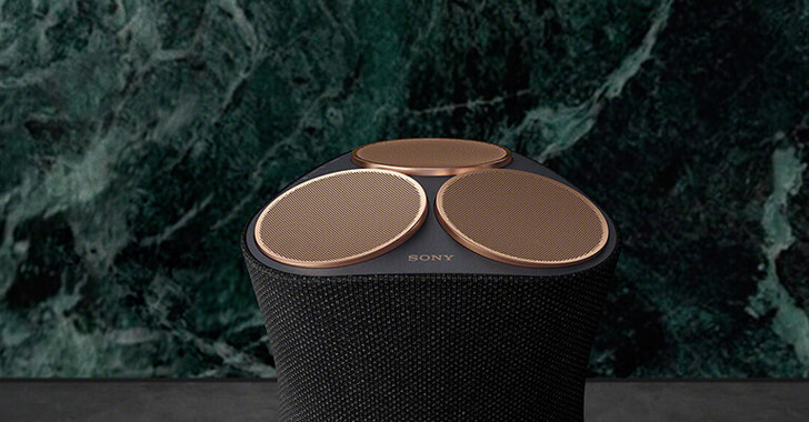 Фото №1 - Новая акустическая система с беспроводным подключением Sony SRS-RA5000 премиум-уровня уже в продаже в России