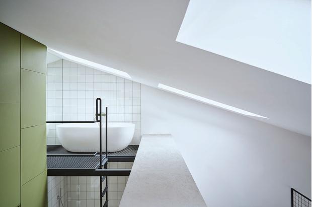 Фото №13 - Эклектичная квартира со спальней в мезонине в Познани