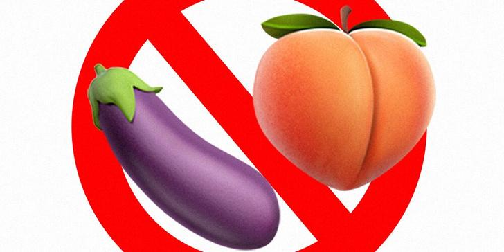 Фото №1 - Facebook и Instagram запретят использовать эмодзи баклажана и персика не по назначению