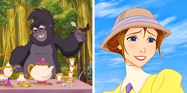 Фото №4 - Тарзан родной брат Анны и Эльзы?! 10 шокирующих фактов о мультфильмах Disney!