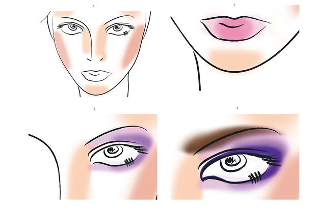 Мастер-класс макияжа в стиле диско