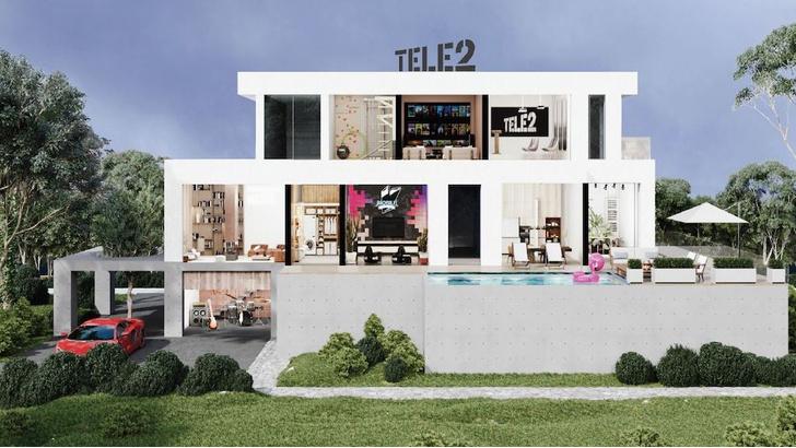 Фото №1 - Нескучная самоизоляция: Tele2 приглашает в дом по другим правилам