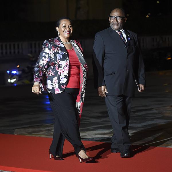 Фото №28 - Боги политического Олимпа: президенты и их жены на званом ужине в Париже