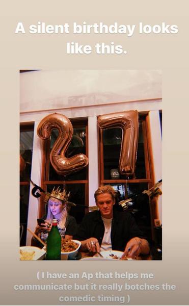 Фото №1 - Как Майли Сайрус отпраздновала свое 27-летие