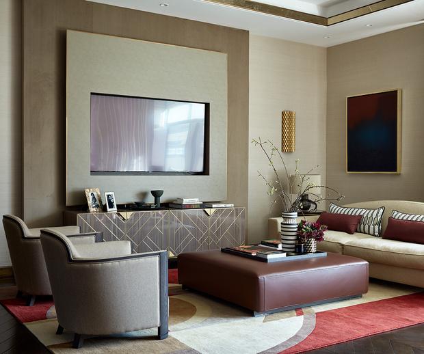 Фото №1 - Новая классика в московской квартире