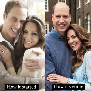 Фото №2 - Too cute: новые фото принца Уильяма и Кейт Миддлтон в честь годовщины свадьбы 🥰